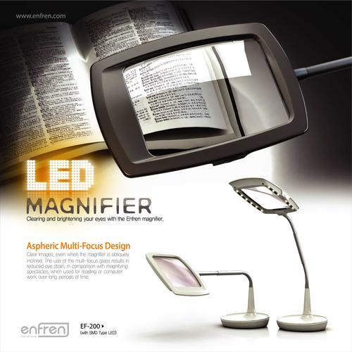 Ef 200 Led Magnifier Desk Lamp