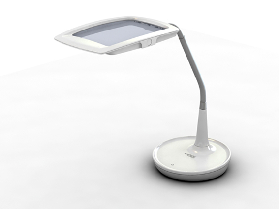 ef200 led magnifier desk lamp
